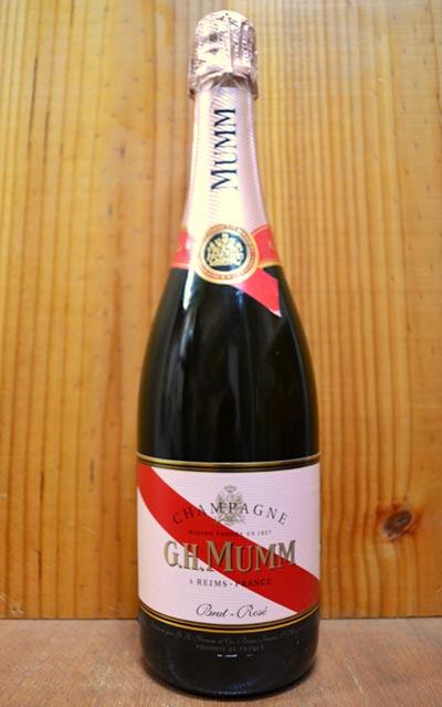 マム ロゼ ハーフ ブリュット 正規 泡 シャンパン ロゼ 375ml 金賞G.H.MUMM Rose Half Brut 375ml AOC Champagne (Mumm et Cie)