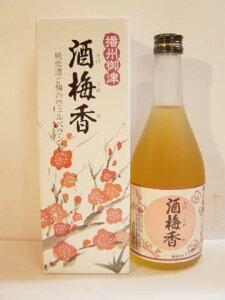 酒梅香(さけうめか)龍力注目度大!珍しい純米酒で漬けた蔵元の梅酒っ!