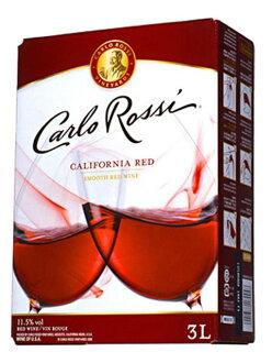 卡洛·羅斯·加利福尼亞·紅.3,000ml、包·in·箱·葡萄酒(針對業務店的大型尺寸)、辣味、E&J、garo·葡萄酒廠(在8條)Carlo Rossi California Red B.I.B(Box Wine)Gallo Winery