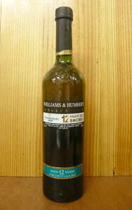 ウイリアム・ハンバート・コレクション・アモンティヤード・ミディアム・ドライ12年Williams & Humbert Collection Amontillado 12years old