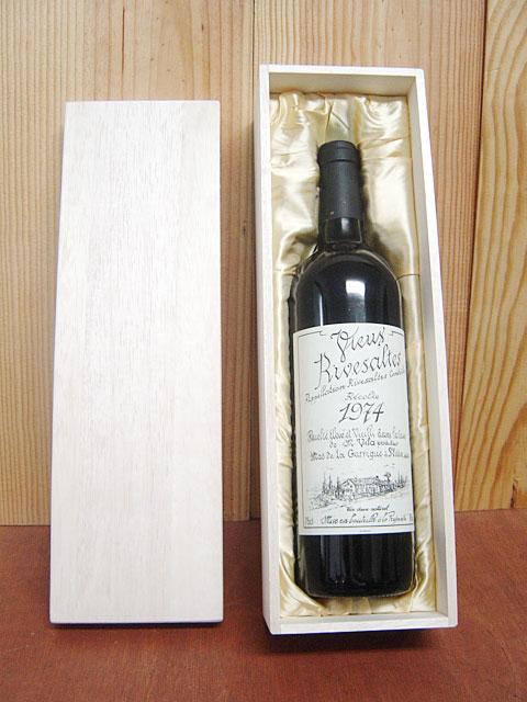 【箱付】リヴザルト 1974 希少限定古酒 ドメーヌ サント ジャクリーヌ元詰 AOCリヴザルト ギフト 赤ワイン 750mlRivesaltes [1974] Domaine Sainte Domaine Sainte Jacqueline AOC Rivesaltes
