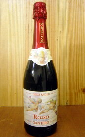 サンテロ・天使のスプマンテ・ロッソ・デグリ・アンジェリ・赤・甘口・スパークリング・ワイン Santero Rosso Degri Angeli