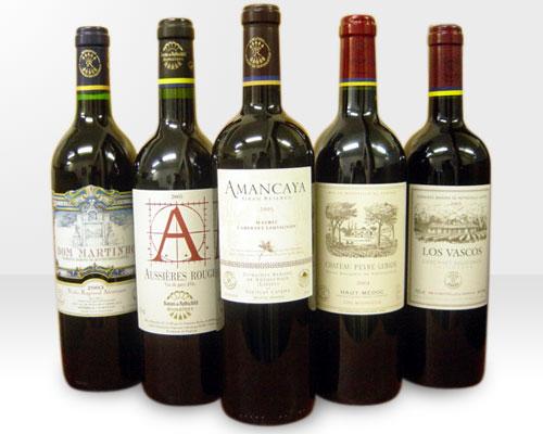 メドック格付第1級・シャトー・ラフィット・ロートシルト経営ドメーヌ・赤ワイン・究極飲み比べ5本セット【同梱可】Domaine Baron de Rothschild