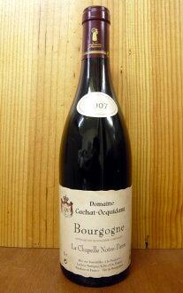 """부르고뉴 루즈 라 샤 펠 르 노트르담 [2007] 년 ・ 도메인 ・ カシャ ・ オキダン ・ 낙 피스/폼/원 Bourgogne Rouge """"La Chapelle Notre Dame"""" [2007] Domaine Cachat Ocquidant et Fils"""