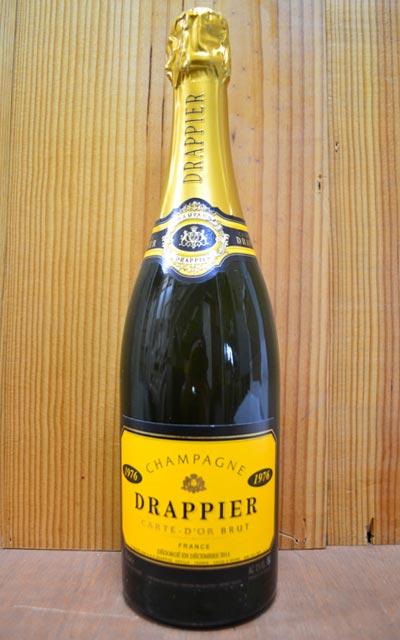 ドラピエ シャンパーニュ カルト ドール ブリュット ミレジム 1976 並行 泡 白 辛口 シャンパン ワイン 750mlDRAPPIER Champagne Carte d'Or Brut Millesime [1976] AOC Millesime Champagne