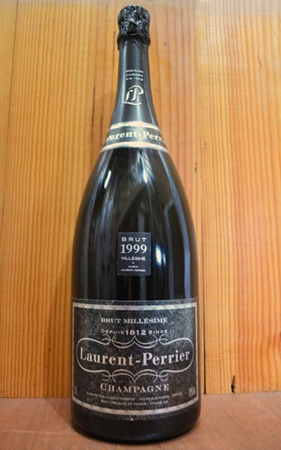 ローラン ペリエ シャンパーニュ ブリュット ミレジム 1999 大型マグナムサイズ AOC ミレジム シャンパーニュ 正規 ローランペリエ フランス 白 泡 シャンパン 1500ml 1.5L (ローラン・ペリエ)Laurent-Perrier Champagne Brut Millesime M.G. [1999]