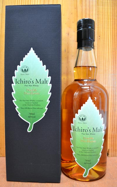 【お一人様1本まで】【豪華箱入】イチローズ・モルト・ダブルディスティラリーズ・ピュア・モルト・秩父蒸留所&羽生蒸留所・ノンチルフィルター・ノンカラーリング・700ml・46% ハードリカーIchiro's Malt Double Distilleries Pure Malt Whisky