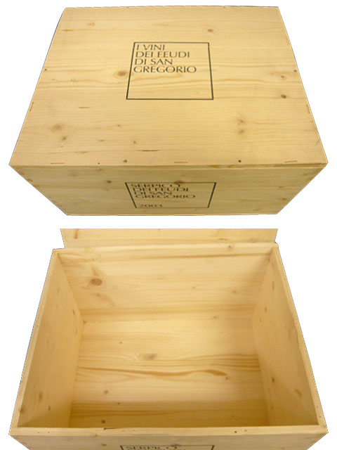 【代金引換不可】【他の商品との同梱不可】ワイン木箱 6本用【DIY D.I.Y.】