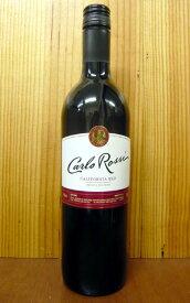 【500均】カルロ ロッシ カリフォルニア レッド E&J ガロ ワイナリー 750ml 赤ワイン 辛口 ライトボディ アメリカ カリフォルニア ソノマ他Carlo Rossi California Red E&J Gallo Winery