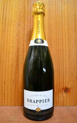 【6本以上ご購入で送料・代引無料】ドラピエ シャンパーニュ カルト ブランシュ ブリュット ドラピエ家 フランス AOCシャンパーニュ 白ワイン 辛口 泡 シャンパン 750mlDRAPPIER Champagne Carte Blanche Brut AOC Champagne