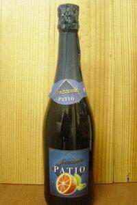 パティオ フリッツァンテ アランチャ ロッサ(レッド オレンジ)フレーバーワイン 甘口 ブルーボトル Patio Frizzante Arancia Rossa Cocktail Aromatizza a Basedi Prodotti Vitivrcoli