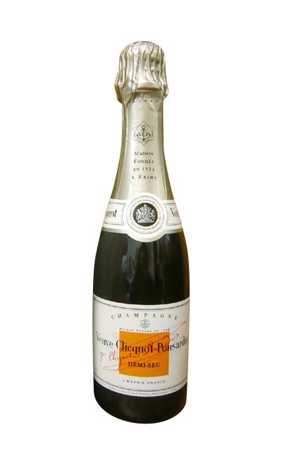 ヴーヴ クリコ ホワイトラベル ドゥミ セック 白 泡 N.V 正規 ハーフ 375ml シャンパン シャンパーニュ (ヴーヴ・クリコ) (ヴーヴクリコ) (ブーブクリコ)