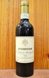 ヴィンサント ディ モンテプルチアーノ 2000 アヴィニョネージ社 DOCGヴィンサント ディ モンテプルチアーノ 正規品 赤ワイン ワイン 甘口 フルボディ 375mlVin Santo di Montepulciano [2000] AVIGNONESI