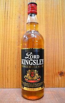 道路大王奴隸萊恩死亡蘇格蘭威幹忌正規的物品700ml 40%堅硬的酒精飲料LORD KINGSLEY BLENDED SCOTCH WHISKY 700ml 40%