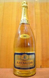 大型ボトル R ルノーダン シャンパーニュ ブリュット レゼルヴ スペシアル ミレジム 1987 AOCミレジム シャンパーニュ 大型マグナムサイズ 泡 白 シャンパーニュ シャンパン ワイン 辛口 1500ml 1.5L