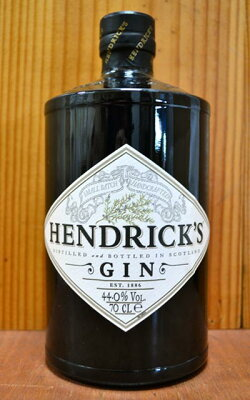 正規代理店輸入品・ヘンドリックス・ジン・ウイリアム・グラント&サンズ社・スコットランド・ジン・700ml・44% ハードリカーHENDRICK'S GIN WILLIAM GRANT & SONS SCOTLAND GIN 700ml 44%
