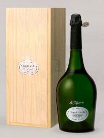 """ローラン ペリエ シャンパーニュ レ レゼルブ グラン シエクル ジェロボアム 大型ダブルマグナムサイズ(3000ml) 全品ナンバリング入 正規代理店輸入品 箱付 (箱入) ギフト ローランペリエ (ローラン・ペリエ)Laurent Perrier Champagne """"Les Reserves Grand Siecle"""""""
