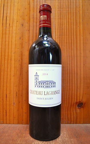 シャトー ラグランジュ 2014 メドック グラン クリュ クラッセ 公式格付第三級 フランス ボルドー メドック AOCサン ジュリアン (醸造コンサルタント、エリック ボワスノ) 赤ワイン 辛口 フルボディ 750ml