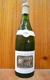 ヴーヴレ ドミ セック 1989 カーヴ デュアール (ダニエル ガテ) フランス ロワール AOCヴーヴレ ドゥミ セック 白ワイン やや甘口 750ml (ヴーヴレ・ドミ・セック) (ドゥミ・セック) (カーヴ・デュアール)Vouvray Demi-Sec [1989] Caves Duhard
