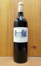 シャトー ダッソー 2008 AOCサンテミリオン グラン クリュ クラッセ (サンテミリオン 特別級) シャトー元詰 ダッソー社 赤ワイン ワイン 辛口 フルボディ 750mlChateau Dassault [2008] AOC Saint-Emilion Grand Cru Classe (Laurence Brun)