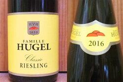 アルザス リースリング ヒューゲル クラシック 2017 ヒューゲル 正規 白ワイン ワイン 辛口 750mlAlsace Riesling Hugel [2016] Hugel et Fils