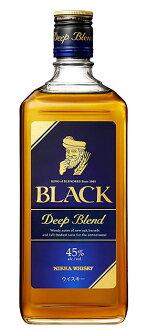 黑色日華深的混合·日華·威士忌、正規代理店進口商品.700ml.45%黑色日華深的混合BLACK NIKKA DEEP BLEND NIKKA WHISKY 700ml 45%