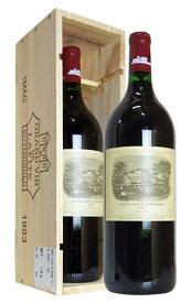 【豪華木箱入】大型ボトル シャトー ラフィット ロートシルト 1983 (1,500ml) (1.5Lボトル) フランス 赤ワイン ワイン 辛口 フルボディ 1500mlChateau Lafite Rothschild [1983] 1er Grand Cru Classe du Medoc en 1855 AOC Pauillac MG Size Wooden Box