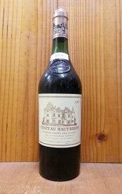 シャトー オー ブリオン 1966 プルミエ グラン クリュ クラッセ 格付第一級(クリュ クラッセ ド グラーヴ第一級格付) AOCぺサック レオニャン フランス 高級赤ワイン ワイン 辛口 フルボディ 750mlChateau Haut-Brion [1966]
