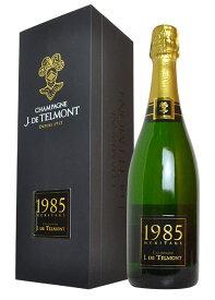 """豪華箱入 J ド テルモン""""ヘリテージ エリタージュ シャンパーニュ ブリュット 1985年 究極蔵出し限定秘蔵古酒 豪華箱入 J ド テルモン社 正規品 豪華ギフトBOXJ. DE TELMONT Champagne """"Heritage"""" Brut Millesime [1985] AOC Millesime Champagne GIFT BOX"""