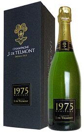 【豪華ギフト箱入】1975年 J(ジ) ド テルモン セレクシオン エリタージュ ミレジム 1975 シャンパーニュ ブリュット J ド テルモン社 正規 ギフト 箱付 泡 白 シャンパン ワイン 辛口 750mlJ. DE TELMONT Champagne Heritage Brut Millesime [1975]