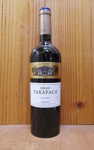グラン タラパカ メルロー 2017 ヴィーニャ サン ペドロ タラパカ マイポヴァレー 赤ワイン 辛口 ミディアムボディ 750mlGran Tarapaka Merlot [2017] Valle del Maipo