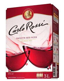 【8本ご購入で送料無料】カルロ ロッシ オーストラリア レッド 3,000ml バッグ イン ボックス ワイン(業務店向け大型サイズ) 辛口 E&J ガロ ワイナリー(8本で送料無料)Carlo Rossi California Red B.I.B (Box Wine) Gallo Winery