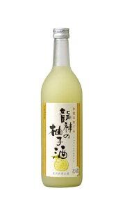 龍神の柚子酒 和歌のめぐみ 和リキュール 世界一統 720ml