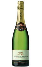 """【6本以上ご購入で送料・代引無料】クレマン ド ボルドー デュロン ブリュット (高級シャンパン方式瓶内2次発酵方式) AOCクレマン ド ボルドー フランス 白 泡 ワイン 辛口Cremant de Bordeaux """"Dulong"""" Brut (Methode Traditional) AOC Cremant de Bordeaux"""