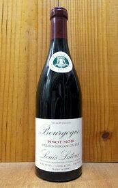 ブルゴーニュ ピノ ノワール 2018 ルイ ラトゥール社 正規 AOC ブルゴーニュ ピノ ノワール 750ml フランス ブルゴーニュ 辛口 赤ワインBourgogne Pinot Noir [2018] Louis Latour AOC Bourgogne pinot Noir