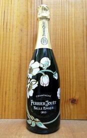 【2本以上ご購入で送料・代引無料】ペリエ ジュエ ベル エポック ブラン シャンパーニュ ヴィンテージ 2012 正規 泡 白 シャンパン ワイン 辛口 750ml (ペリエ・ジュエ)PERRIER JOUET Cuvee BELLE EPOQUE Fleur de Champagne Millesime [2012] AOC (Millesime)