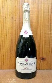 グラハム ベック ブリュット 南アフリカ ウェスタンケープ 白 辛口 スパークリングワイン 750mlGRAHAM BECK Brut