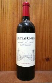 【6本以上ご購入で送料・代引無料】シャトー コルバン 2008 AOCサンテミリオン グラン クリュ クラッセ 特別級 シャトー元詰 赤ワイン ワイン 辛口 フルボディ 750ml (シャトー・コルバン)Chateau Corbin [2008] AOC Saint-Emilion Grand Cru Classe