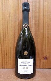 ボランジェ シャンパーニュ グラン ダネ ミレジム 2008 正規 フランス シャンパン 泡 ワイン 発泡 白 辛口 750mlBollinger Champagne Grande Annee Millesime [2008] AOC Vintage Champagne