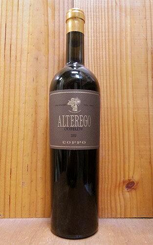アルテレーゴ 2000 コッポ社 DOCモンフェラート 重厚ロングボトル イタリア ピエモンテ 赤ワイン ワイン 辛口 フルボディ 750mlALTEREGO [2000] Cantine Coppo DOC Monferrato