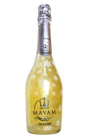 【LEDライト付き】マバム グラシア ゴールド フュージョン (シルバーのラメ) (スノーボトル&LEDライト付きボトル) ボデガス ビタニ デル サズ 泡 白 エスプモーソ スパークリングワイン ワイン 750ml (マバム・グラシア)MAVAM Glaciar Gold Fusion