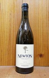 ニュートン・ナパ・ヴァレー・アンフィルタード・シャルドネ[2016]年・オーク樽20ヵ月熟成・ニュートン・ヴィンヤード・重厚ボトルNEWTON Unfiltered Chardonnay [2016] Newton Vineyard (NAPA County)
