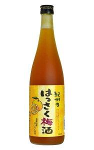 紀州のはっさく梅酒・和歌山産はっさく使用・紀州高級南高梅100%使用・こだわり梅酒