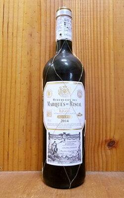 マルケス デ リスカル ティント レセルヴァ 2014 DOC リオハ スペイン リオハ 赤ワイン 辛口 フルボディ 750ml (マルケス・デ・リスカル・ティント・レセルヴァ)Heredenes Del Marques De Riscal Tinto Reserva [2014] DOC Rioja