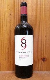 シックス エイト ナイン(689)セラーズ ナパ ヴァレー レッド 2017 アメリカ カリフォルニア ナパヴァレー 赤ワイン ワイン 辛口 フルボディ 750mlSix Eight Nine (689 Cellars) Napa Valley Red Wine [2017]