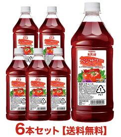 【送料無料】【6本セット ケース】果実の酒 ベジサワー トマト 18% PET 1800ml×6本 ニッカ (リキュール)