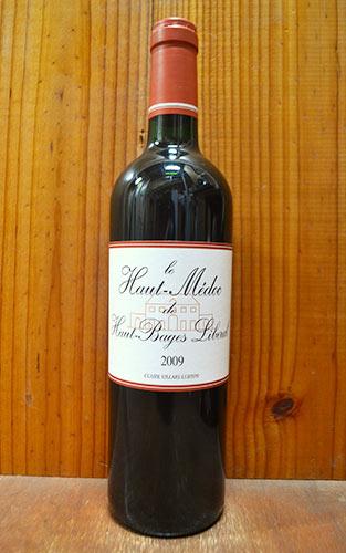 【6本以上ご購入で送料・代引無料】ル オー メドック ド オー バージュ リベラル 2009 (オー・バージュ・リベラル) クレール ヴィラール リュルトン 赤ワイン ワイン 辛口 フルボディ 750mlLe Haut-Medoc de Haut Bages Liberal [2009]