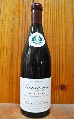 【6本以上ご購入で送料・代引無料】ブルゴーニュ ピノ ノワール 2015 ルイ ラトゥール社 正規 AOC ブルゴーニュ ピノ ノワール 750ml フランス ブルゴーニュ 辛口 赤ワインBourgogne Pinot Noir [2015] Louis Latour AOC Bourgogne pinot Noir