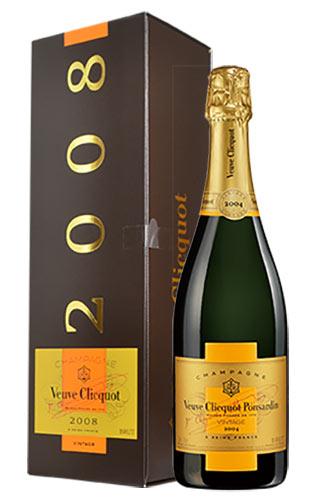 ヴーヴ クリコ (ヴーヴ・クリコ) (ヴーヴクリコ) (ブーブクリコ) 白 泡 2008 正規 箱付 750ml シャンパン シャンパーニュChampagne Veuve Clicquot Pousardin Brut Vintage [2008] Gift DX Box