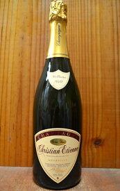 クリスチャン エティエンヌ シャンパーニュ ミレジメ 2010 エクストラ ブリュット R.M 泡 白 ワイン 辛口 シャンパン 750mlChristian Etienne Champagne Millesime [2010] R.M. AOC Millesime Champagne